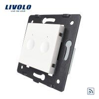 Modul intrerupator dublu wireless cu touch LIVOLO, Serie noua