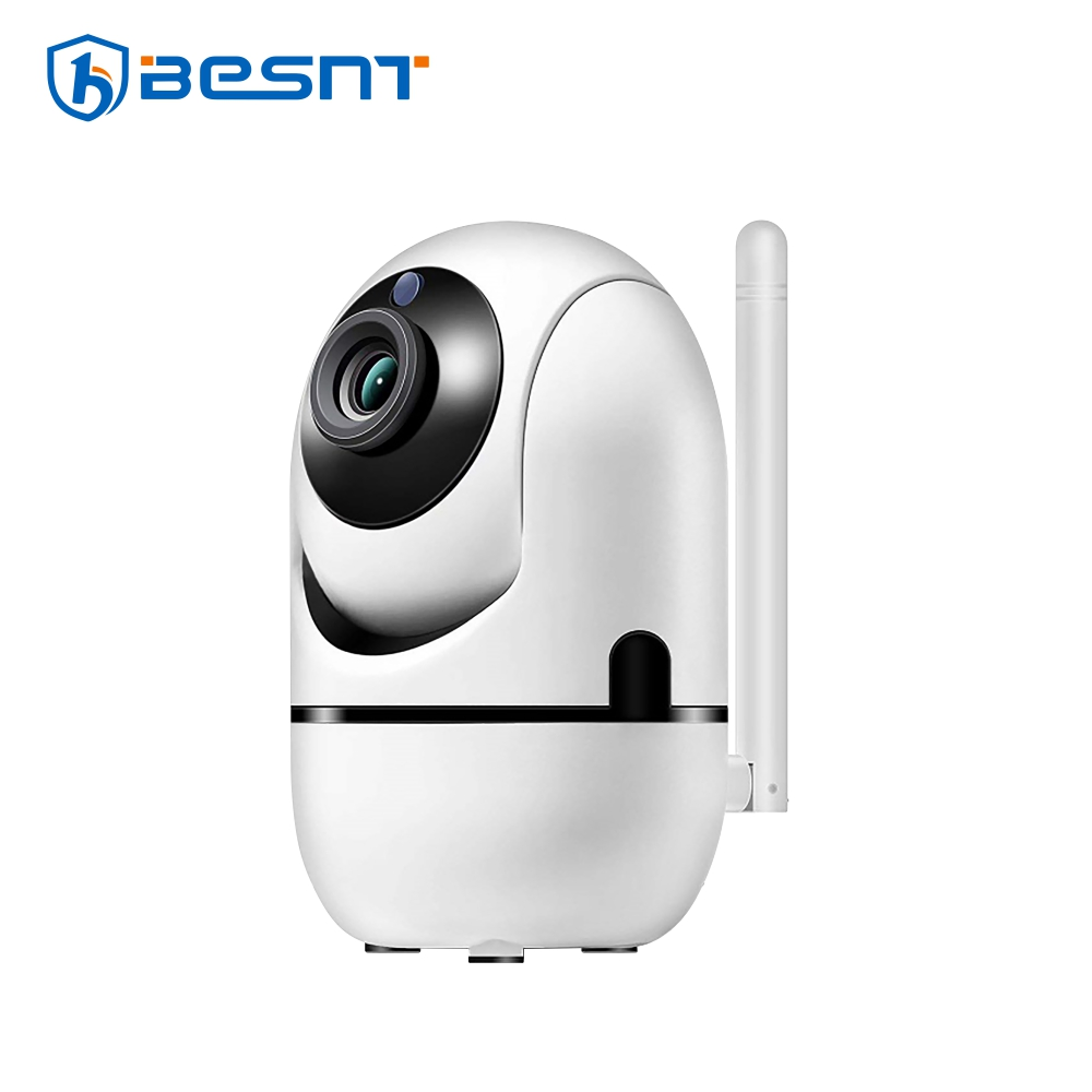 Camera de supraveghere IP BS-N708P, WIFI, 3.6mm, 2.0MP CMOS, 1080P, Comunicare bidirectionala, Night vision, Camera rotativa, Detectie miscare, Stocare in cloud, Alarma, Monitorizare de pe telefonul mobil imagine case-smart.ro 2021