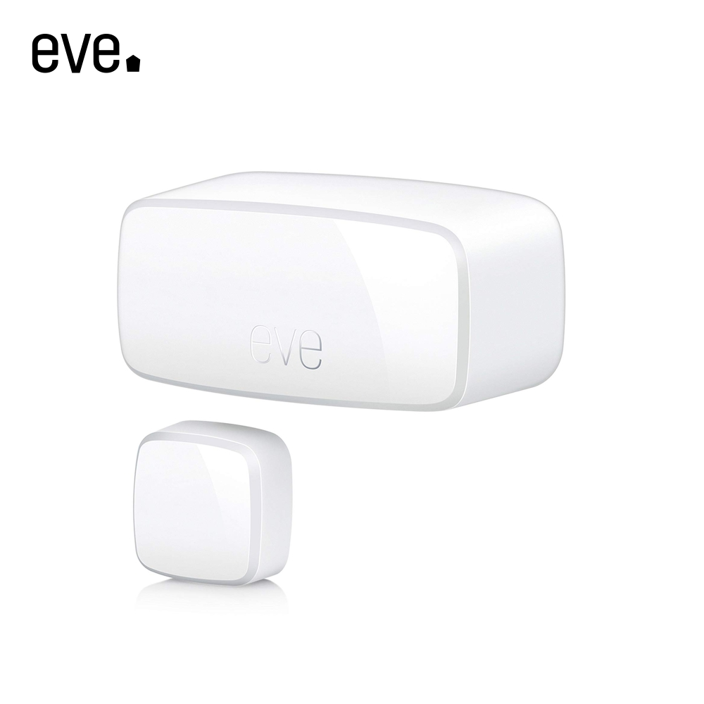 Senzor de contact pentru usi si ferestre Eve Door & Window, Compatibil cu Apple HomeKit, Wireless imagine case-smart.ro 2021