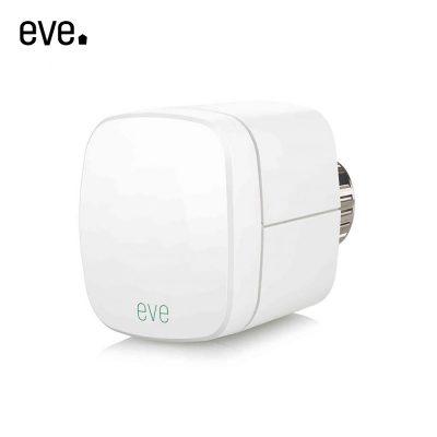 Valva inteligenta pentru calorifer Eve Thermo cu LED, Control tactil, Control vocal, Compatibil cu Apple HomeKit