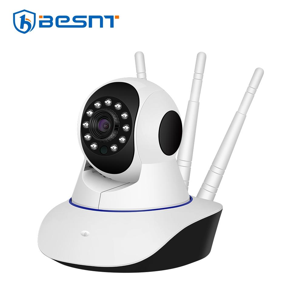 Camera de supraveghere Wireless rotativa BS-IP22L, Monitorizare Audio – Video, Comunicare bidirectionala, Night Vision, Senzor de miscare, Alarma, Control de pe telefonul mobil imagine case-smart.ro 2021
