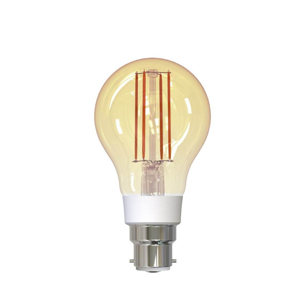 Bec inteligent LED Wireless Homeflow B-5008, B22, 5.5W (40W), 500lm, dimabil, filament, lumina calda, Control de pe telefonul mobil imagine case-smart.ro 2021