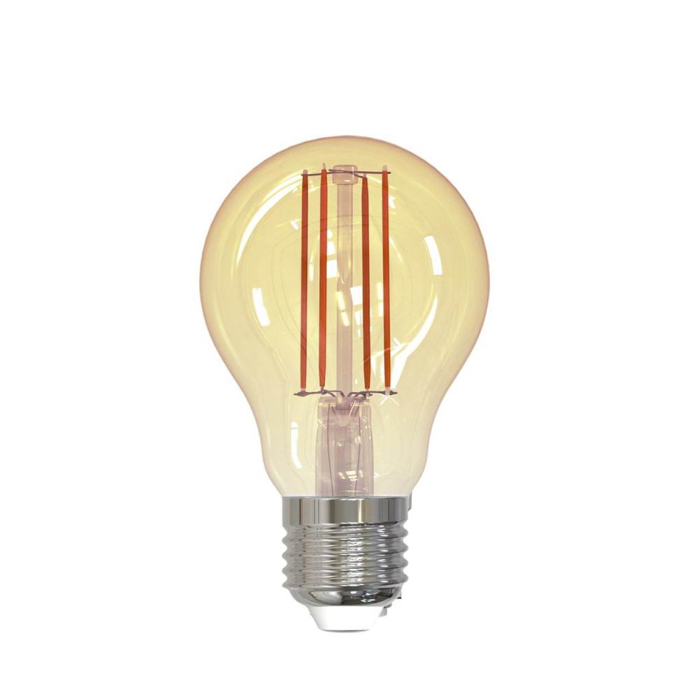 Bec inteligent LED Wireless Homeflow B-5009, E27, 5.5W (40W), 500lm, dimabil, filament, lumina calda, Control de pe telefonul mobil imagine case-smart.ro 2021
