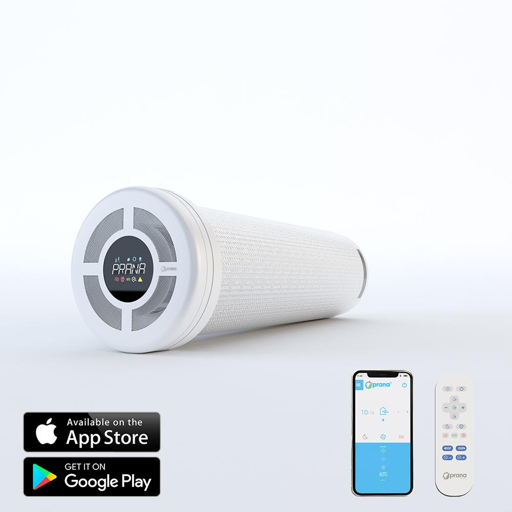 Sistem de ventilatie cu recuperare de caldura PRANA 200G cu Functie Preincalzire imagine case-smart.ro 2021