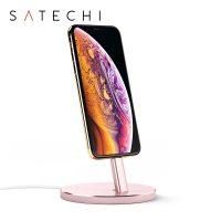 Stand incarcare Satechi pentru iPhone, Aluminiu culoare roz