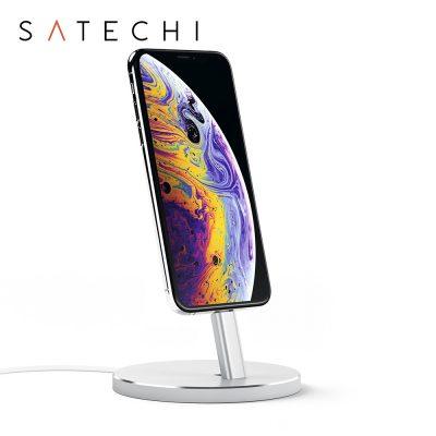 Stand incarcare Satechi pentru iPhone, Aluminiu