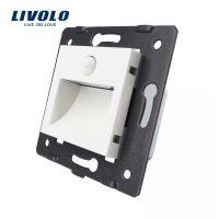 Lampa de veghe LED Livolo cu senzor miscare incorporat