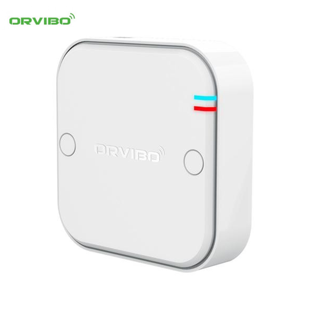 Releu Wireless multifunctional pentru automatizare draperii, rulouri, usi garaj, ORVIBO T18W3Z(CM10ZW) imagine case-smart.ro 2021