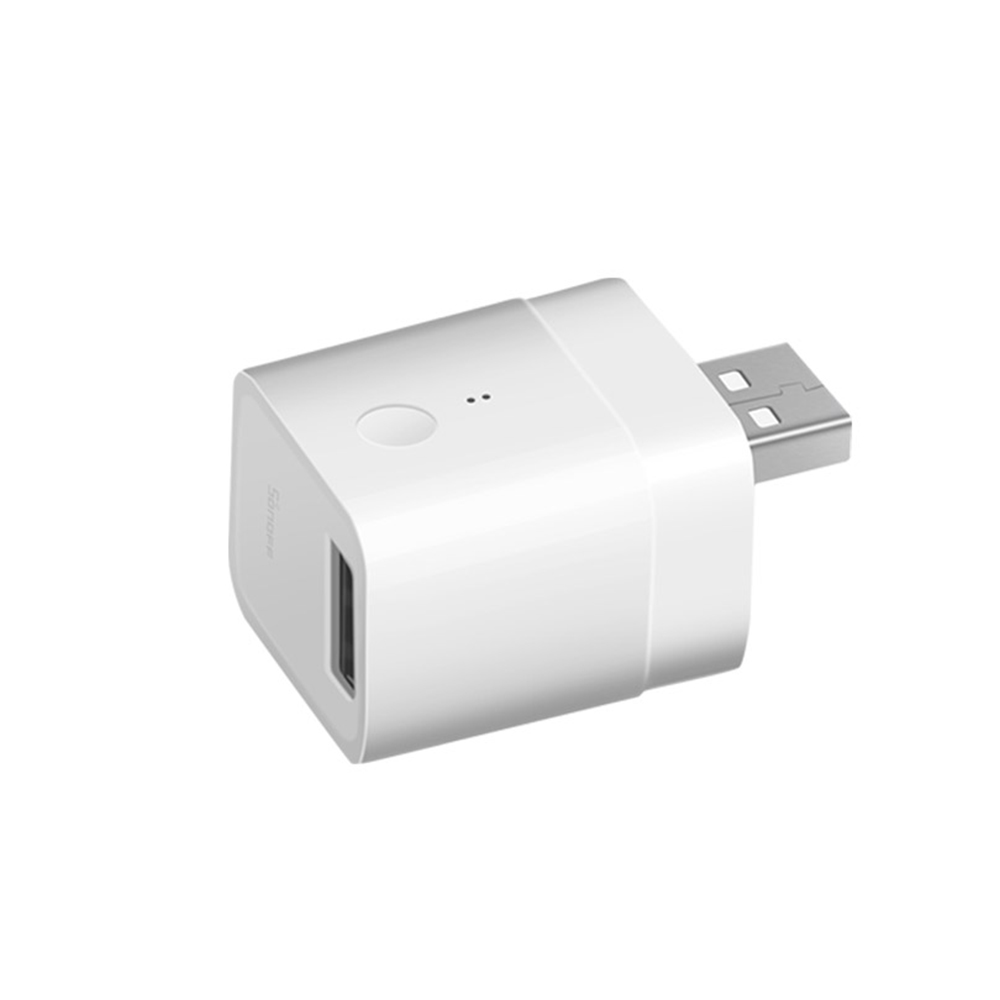 Adaptor USB Inteligent Sonoff, Micro, 5V, Wireless, Compatibil cu Google Home, Alexa & eWeLink imagine case-smart.ro 2021
