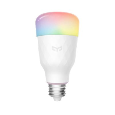 Bec Inteligent YeeLight 1S YLDP13YL, Smart, Color, WiFi, 8.5W, Compatibil cu Google Assistant, Apple HomeKit & SmartThings