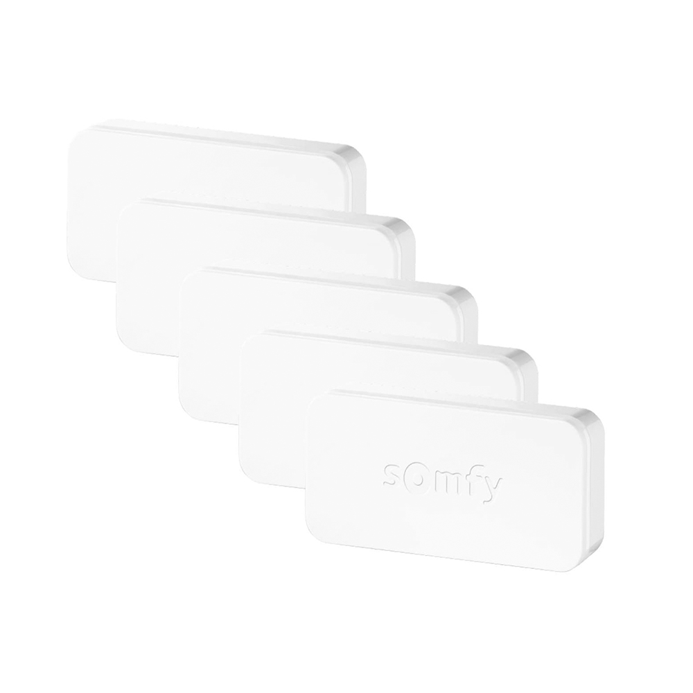Intellitag™ Senzor pentru usa/fereastra interior sau exterior, Compatibil cu Somfy One, One+, Home Alarm, Pachet 5 bucati imagine case-smart.ro 2021