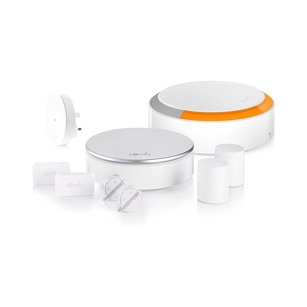 Pachet Home Alarm Premium Somfy, Sirena de interior, Sirena pentru exterior, Brelocuri si INTELLITAG™ imagine case-smart.ro 2021