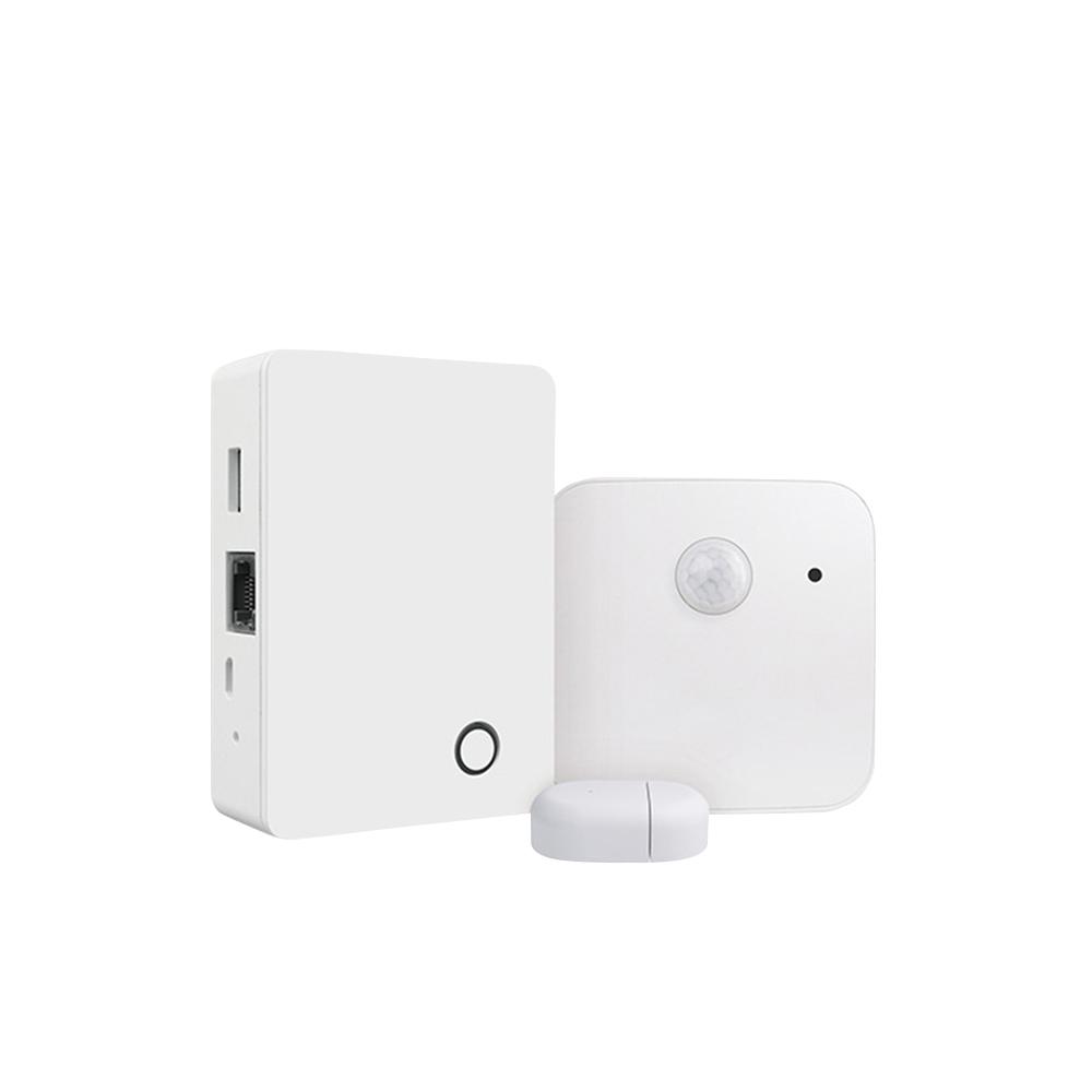 Sistem de alarma BroadLink BestCon MSK1, senzori de miscare, temperatura, umiditate imagine case-smart.ro 2021