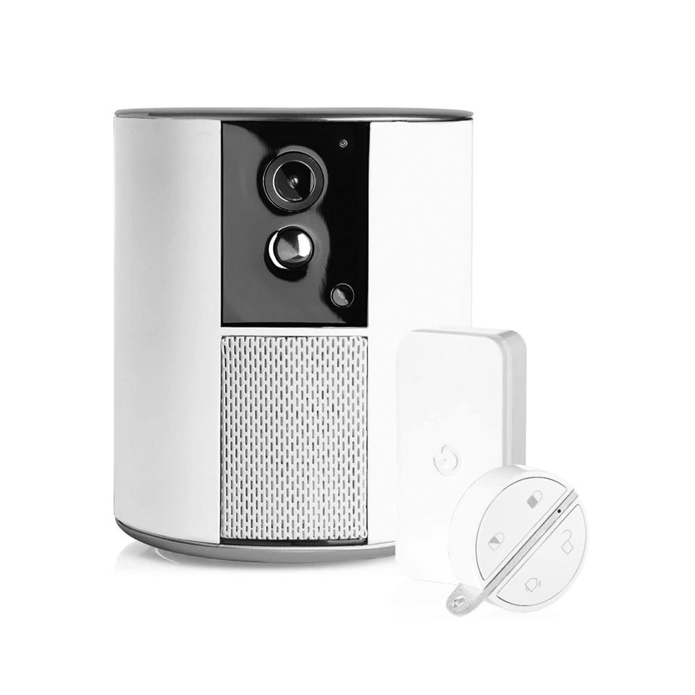 Camera de supraveghere Somfy One+, Full HD, Alarma si Sirena, WiFi, Bluetooth 4.0, Detector de miscare ( Badge si IntelliTag incluse ) imagine case-smart.ro 2021