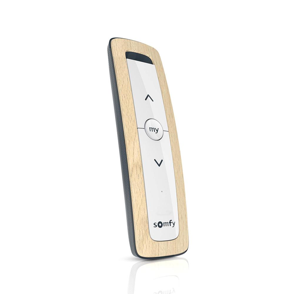 Telecomanda Situo 1 io Natural II EE, Buton rotativ, Functie auto / manual, Compatibil cu io-homecontrol imagine case-smart.ro 2021