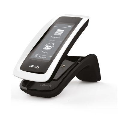Telecomanda radio feedback Somfy NINA io, Touchscreen, Wireless, Smart, Control 40 grupe de produse