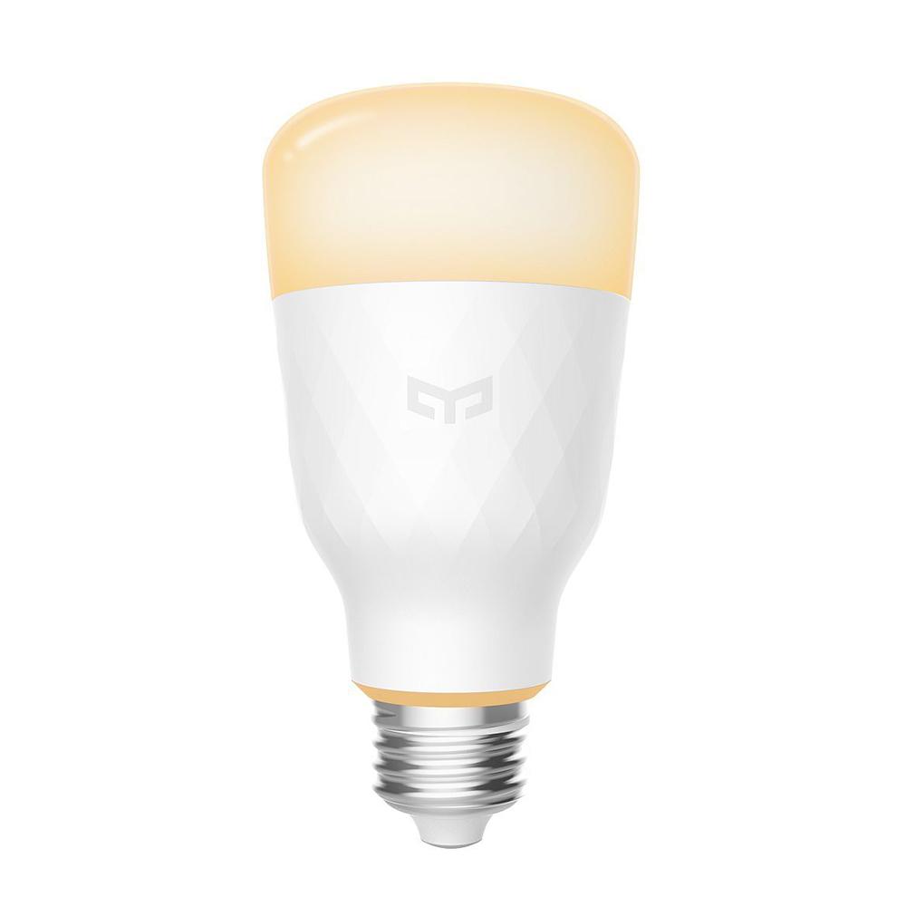 Bec Smart LED Yeelight 1S, Dimabil, Wi-Fi, E27, 800 LM, Comanda vocala, 8.5W imagine case-smart.ro 2021