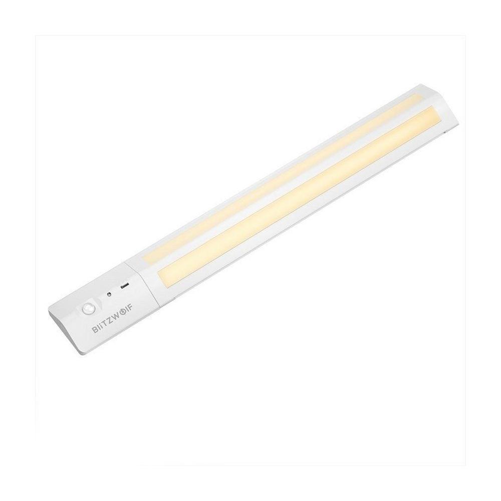Lampa LED BlitzWolf BW-LT8 , Alb, 85 LM, 3W, Unghi de iluminare de 200°, Senzor de miscare, Baterie 1000 mAh imagine case-smart.ro 2021