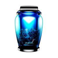 Odorizant Auto Baseus, Car Air Freshener, AMROU-03, Albastru, Pe baza de zeolit, 2 arome