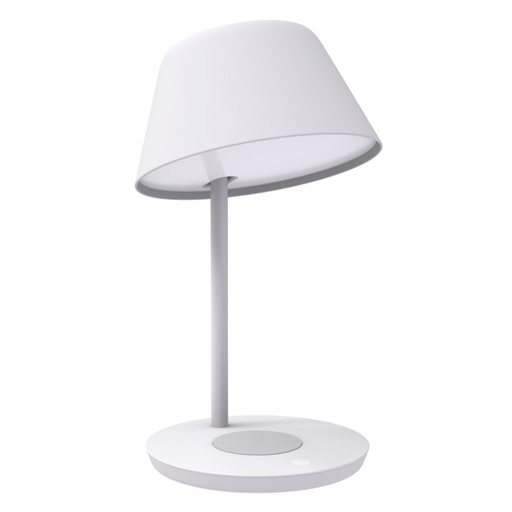 Lampa LED Yeelight Staria Bedside Lamp Pro, YLCT03YL, Pentru incarcare wireless, 18W, Comanda vocala imagine case-smart.ro 2021