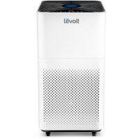 Purificator de aer Levoit LV-H135, Alb, Filtru True HEPA, Carbon activ, Filtrare 99.97%, Touch screen, Afisaj LED, Rezervor uleiuri esentiale