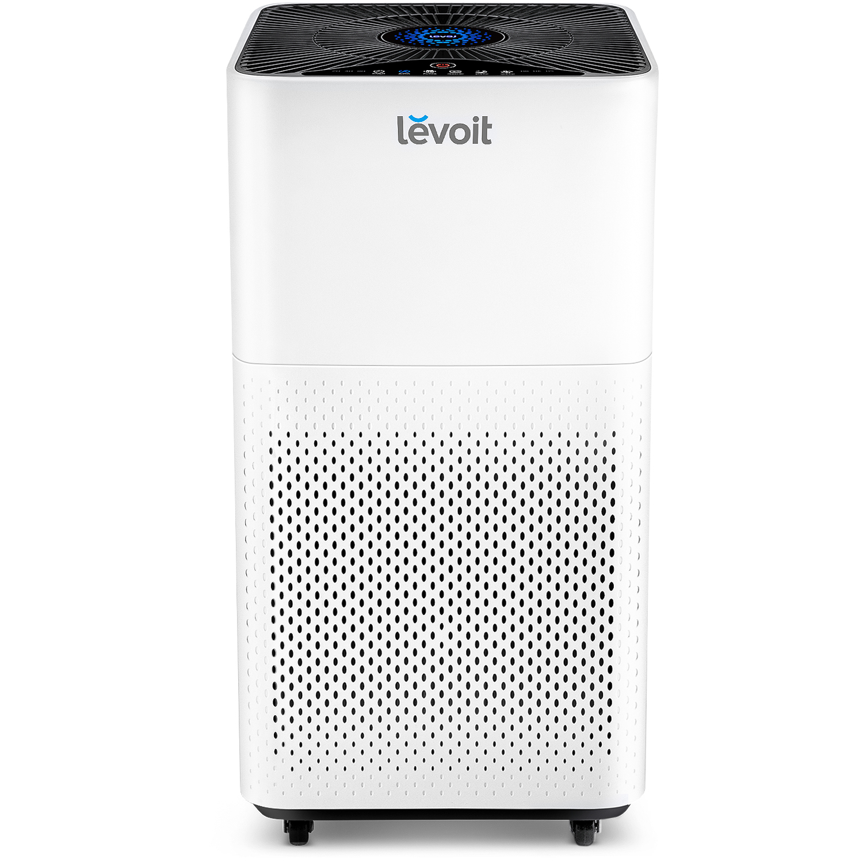 Purificator de aer Levoit LV-H135, Alb, Filtru True HEPA, Carbon activ, Filtrare 99.97%, Touch screen, Afisaj LED, Rezervor uleiuri esentiale imagine case-smart.ro 2021