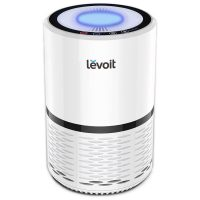 Purificator de aer Levoit LV-H132, Filtru True HEPA, Filtrare 99.97%, 100% Ozon free, 15m², Touch screen, Set filtre rezerva