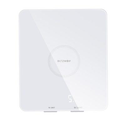 Cantar pentru bucatarie BlitzWolf BW-SC4, Smart, Display LED, Sticla securizata, Capacitate 5 kg
