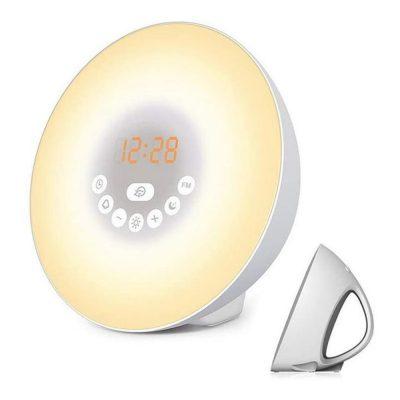 Boxa bluetooth RedSun 6640MD, 5W, Cu lampa, Alarma, Radio FM, 7 Culori, Moduri multiple