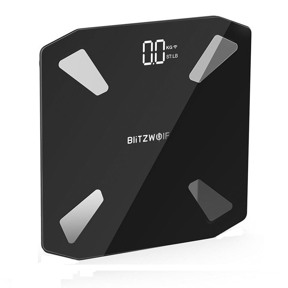 Cantar corporal inteligent BlitzWolf BW-SC3, Smart, Baterie 7000 mAh, 13 Indicatori corporali imagine case-smart.ro 2021