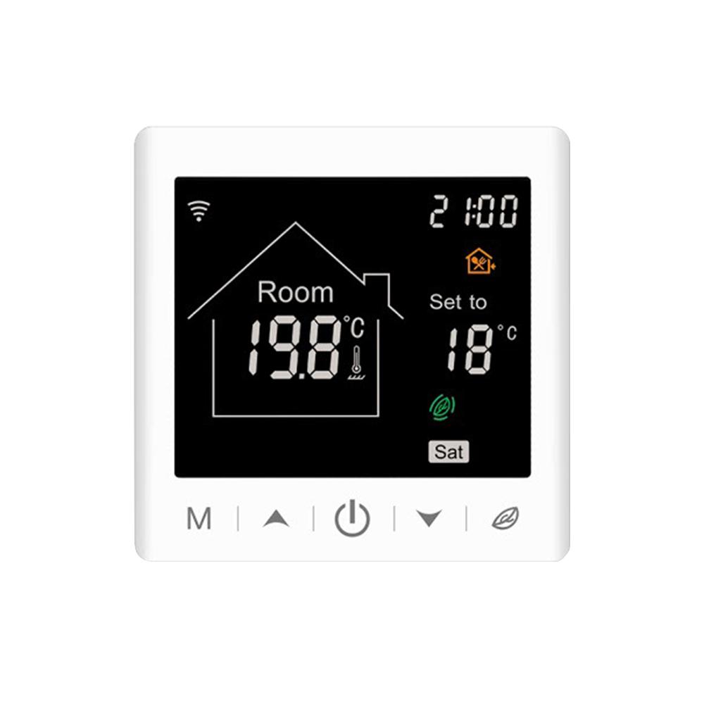 Termostat Wi-Fi BeOk pentru centrala termica pe gaz si incalzire in pardoseala imagine case-smart.ro 2021