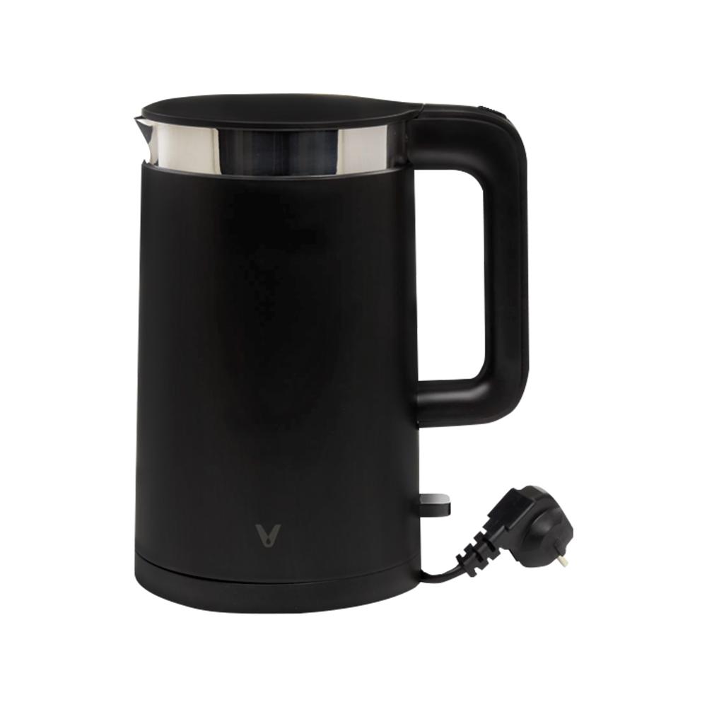 Fierbator de apa Viomi Kettle, Negru, Otel inoxidabil, Capacitate 1.5 L, Putere 1800 W imagine case-smart.ro 2021
