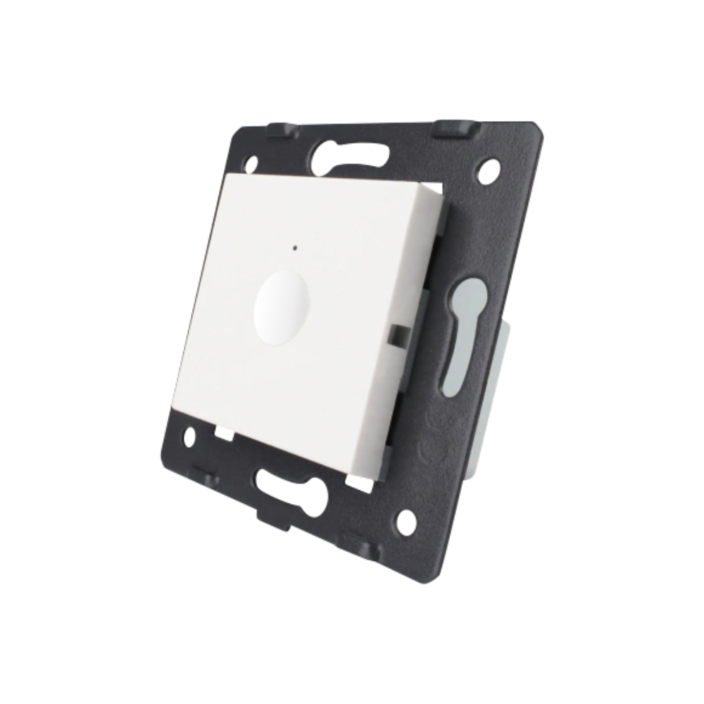 Modul intrerupator simplu cap scara / cap cruce Livolo imagine case-smart.ro 2021