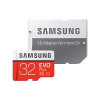 Card de memorie Samsung EVO Plus 32 GB MB-MC32GA/EU + Adaptor SD, Memorie interna de tip USH-I
