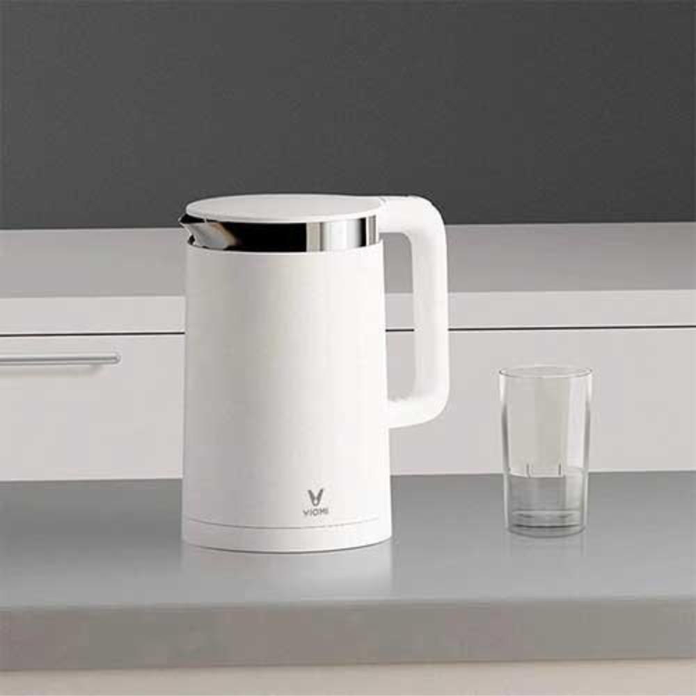 Fierbator de apa Xiaomi Viomi Kettle, Capacitate 1.5 L, Putere 1800 W, Otel inoxidabil