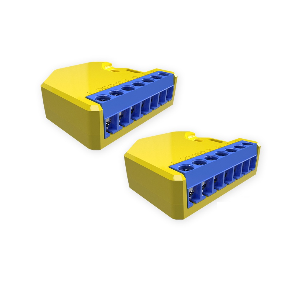 Pachet 2 relee inteligente pentru banda LED RGB Shelly RGBW2, Wi-Fi, 4 Canale, Control aplicatie imagine case-smart.ro 2021