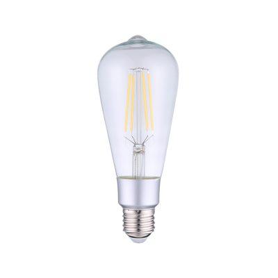 Bec inteligent Shelly Vintage ST64, Dimmer, Wi-Fi, Control aplicatie, E27, 7W, 750 LM