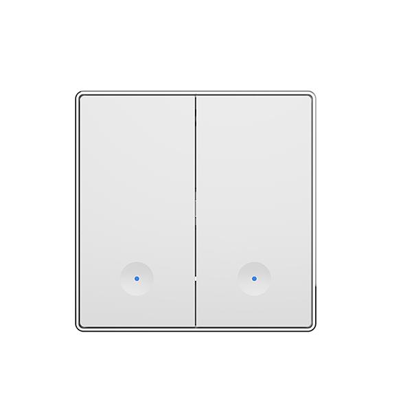 Intrerupator dublu Owon, 10 A, 0.7 W, Protocol ZigBee, Control aplicatie imagine case-smart.ro 2021