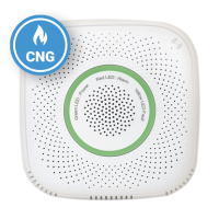 Senzor detector de gaz natural comprimat Shelly Gas CNG, Wireless, Alarma 70 dB, Notificari aplicatie
