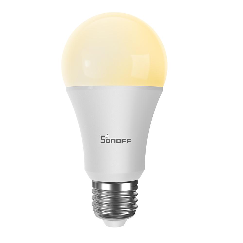 Bec inteligent cu LED Sonoff B02-B-A60, Lumina calda / rece, Putere 9W, 806 LM, Control aplicatie imagine case-smart.ro 2021