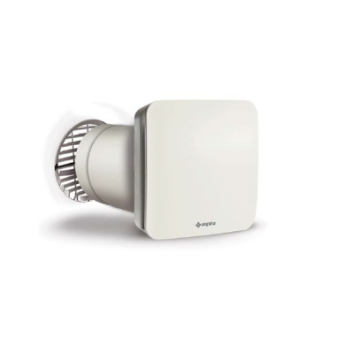 Unitate Aspira ECOCOMFORT SAT 160 RF, Recuperare de caldura, Senzor umiditate, 3 Trepte de viteza, Eficienta 90 %