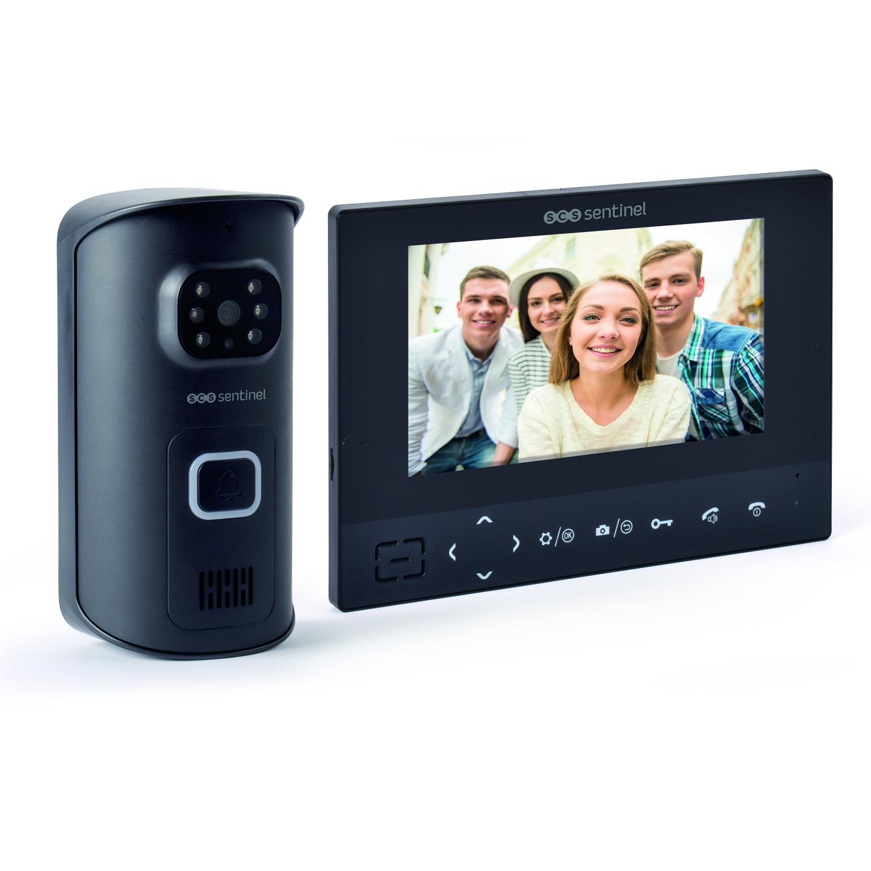Interfon video wireless SCS Sentinel Airvisio 200, Ecran 7 inch, Inregistrare video & Captura foto, Distanta transmisie 200 m imagine case-smart.ro 2021