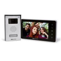 Interfon video cu fir SCS Sentinel VisioKit 7, Ecran tactil 7 inch, Vedere nocturna, 10 Melodii