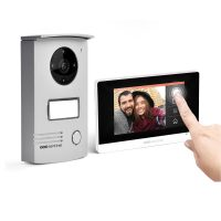 Interfon video cu fir SCS Sentinel VISIODOOR 4.3+, Ecran tactil de 4.3 inch, Monitorizare video cu unghi de 120°