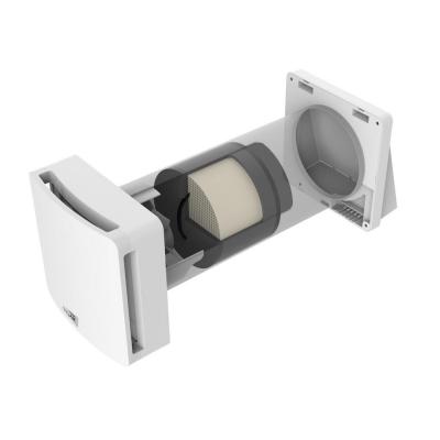 Ventilator independent cu recuperare de caldura NovingAIR Base 150, Incaperi pana la 25 mp, 2 Trepte de viteza