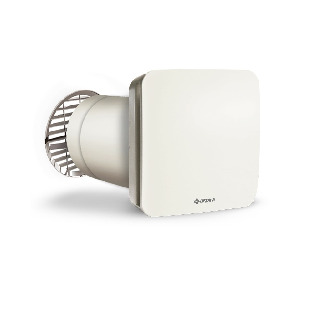 Unitate de ventilatie cu recuperare de caldura, Aspira RHINOCOMFORT SAT 160 RF imagine case-smart.ro 2021