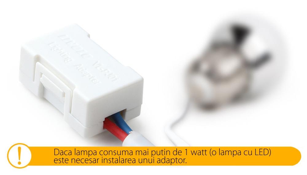 Intrerupator cu touch simplu+simplu+dublu LIVOLO din sticla, Protocol ZigBee, Control de pe telefon