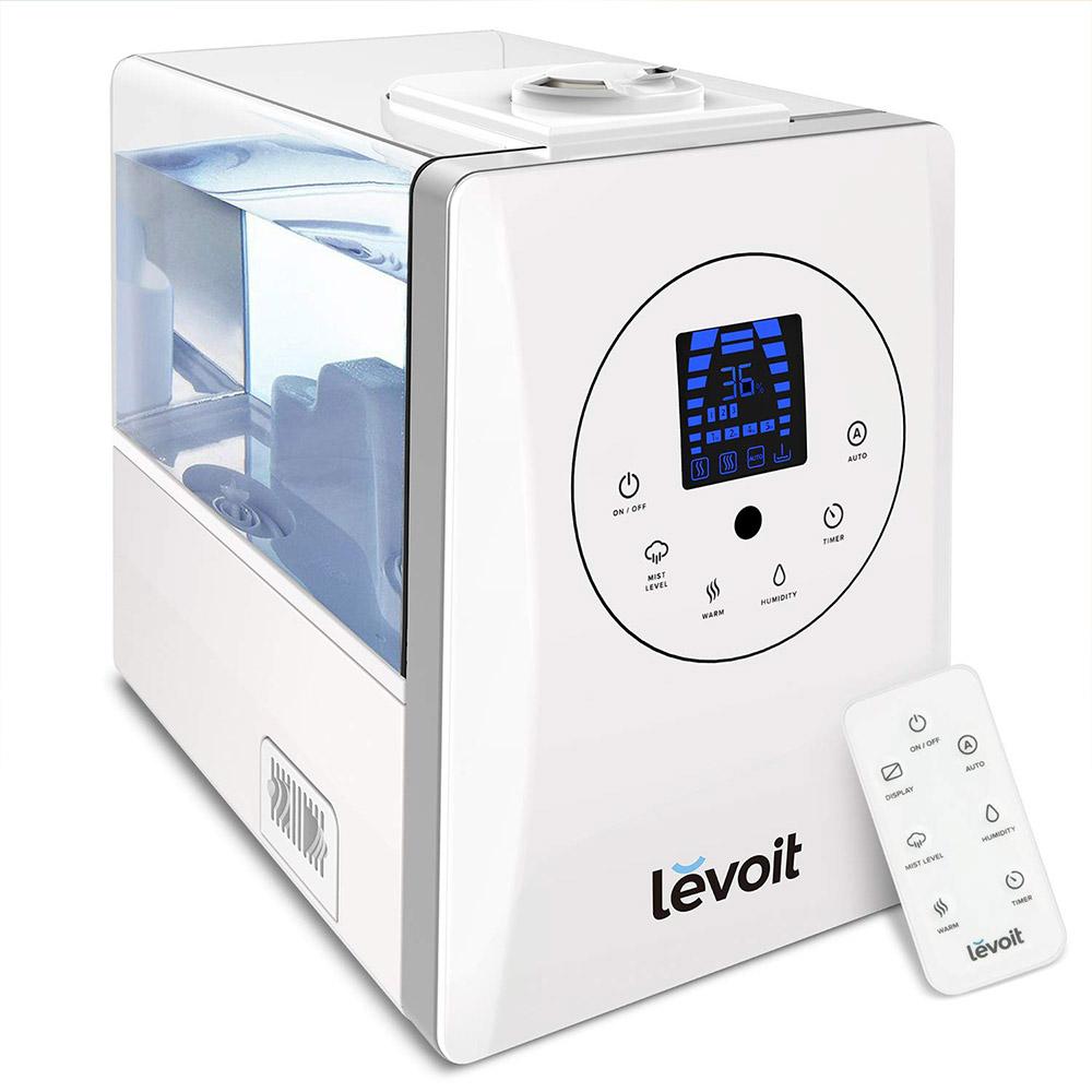 Umidificator Levoit LV600HH-RWH, Capacitate 6 L, Nivel zgomot 36 dB, Aromaterapie, Umidificare personalizata imagine case-smart.ro 2021