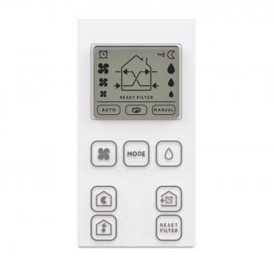 Telecomanda TC pentru NovingAIR PHANTOM Active, Mod manual, Controlul umiditatii