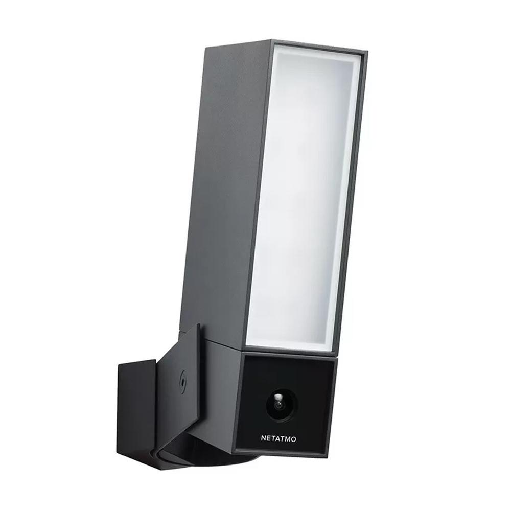 Camera de supraveghere pentru exterior Netatmo Presence, Wi-Fi, Proiector LED, Vedere nocturna, 4 MP, Rezolutie 1080P imagine case-smart.ro 2021